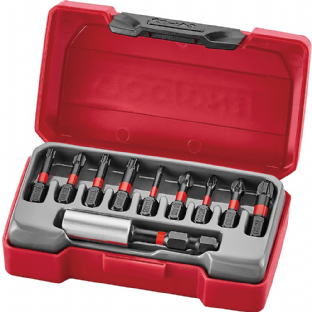 Teng TMC010 10 Piece Construction Impact Bits Set